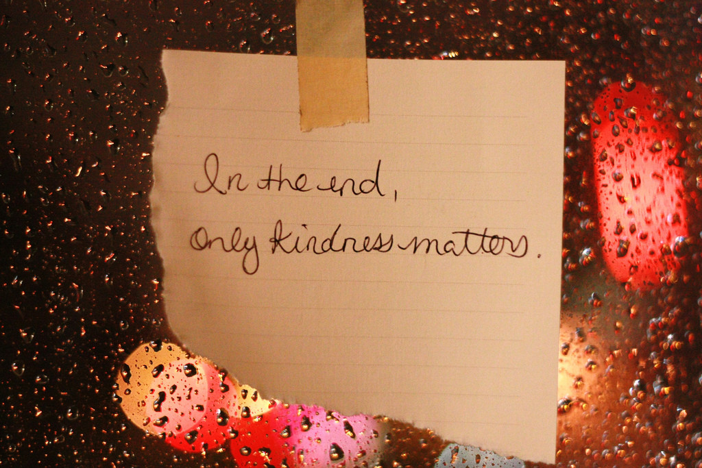 Kindness and Hatchets